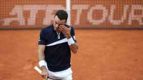 Roberto Bautista en el torneo ATP 500 de Hamburgo