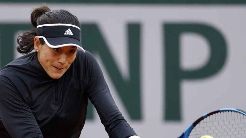 Garbiñe Muguruza, en Roland Garros 2020