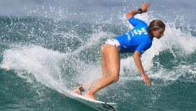 Maya Gabeira, surfista brasileña