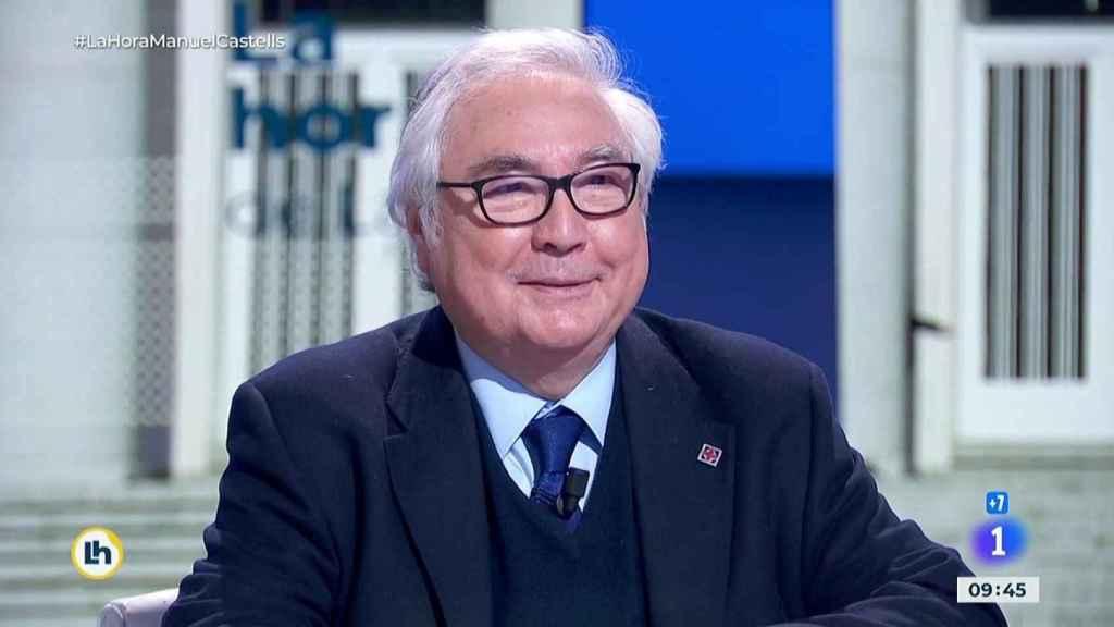 Manuel Castells, ministro de Universidades, en TVE.