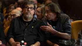 El ex concejal de ERC, Jordi Pesarrodona, a la izquierda.