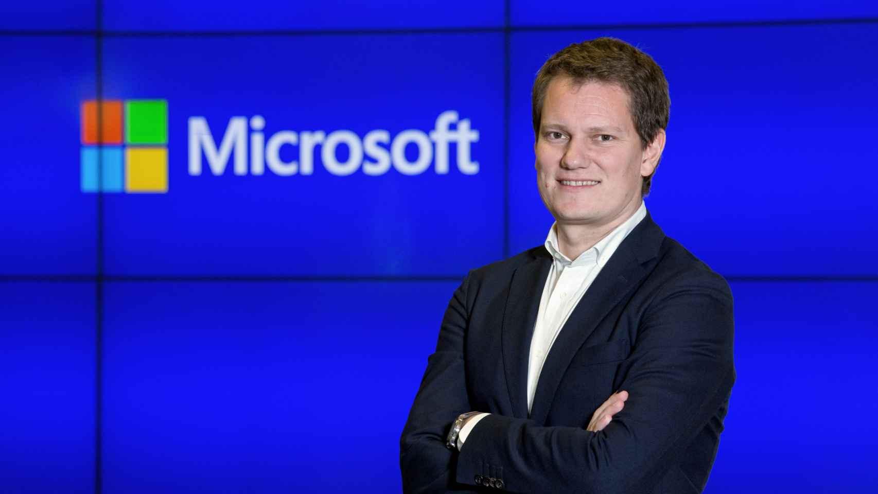 Antonio Budia, director de Operaciones y Marketing en Microsoft España