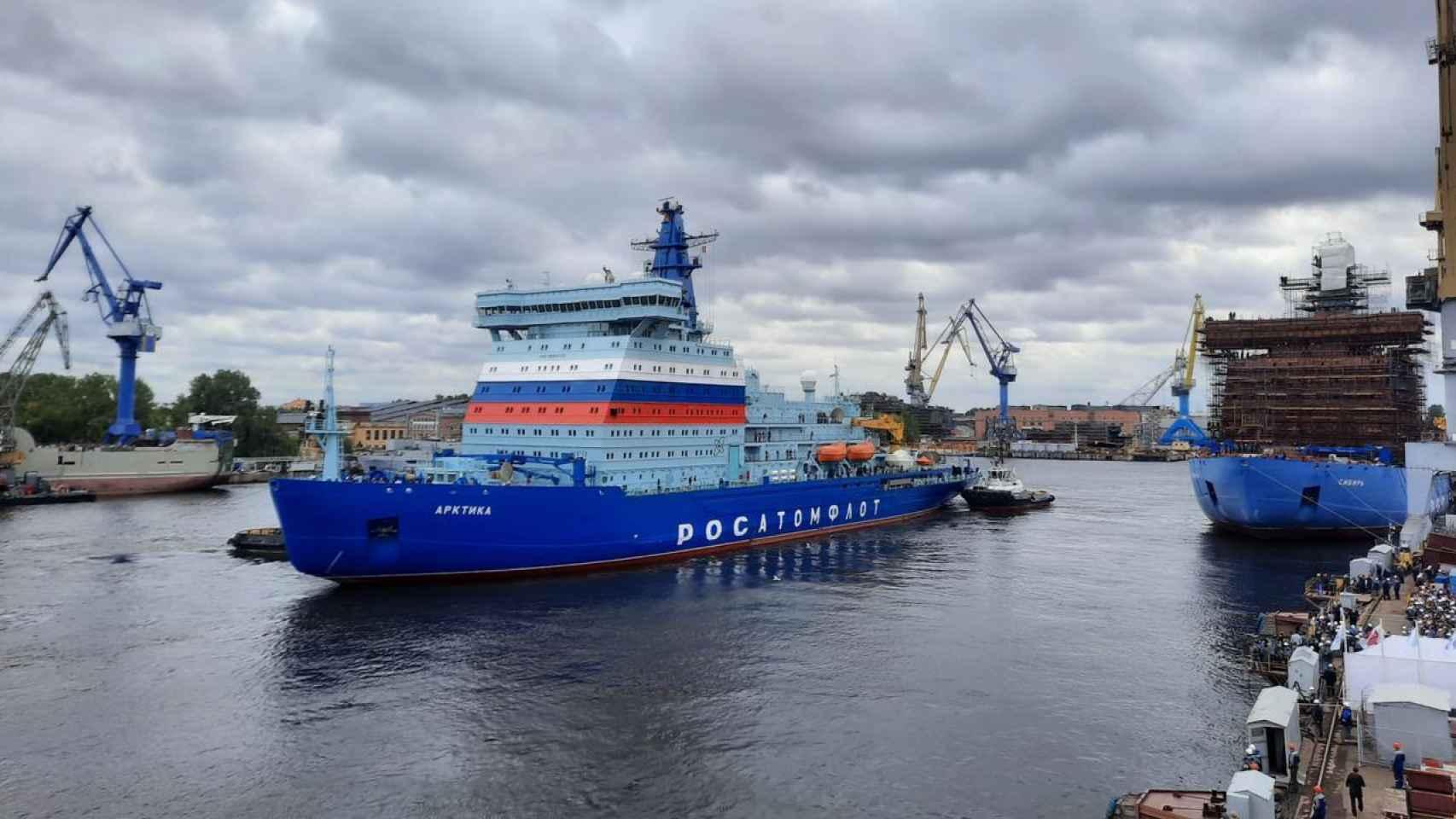 Arktika, buque rompehielos ruso