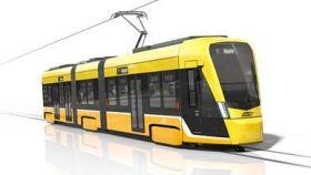 Tranvía Tramlink de Stadler.
