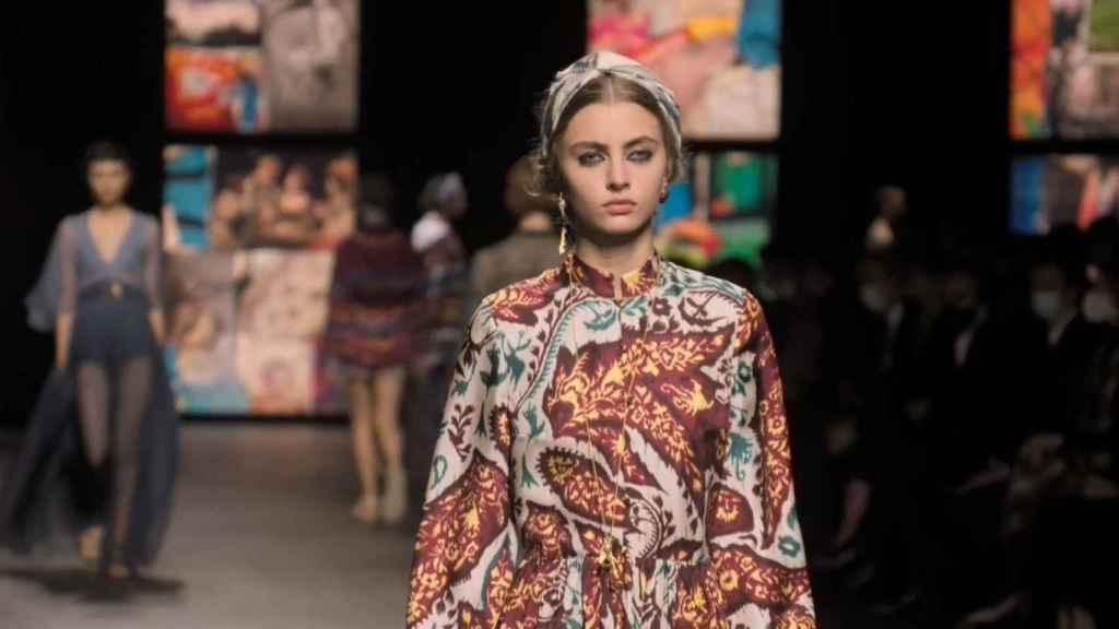Desfile de la colección primavera-verano 2021 de Dior.