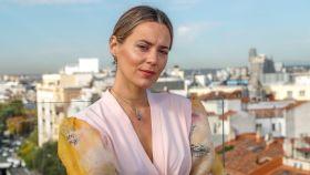 Claudia Osborne durante la presentación de su libro 'Lo mejor de ti'.