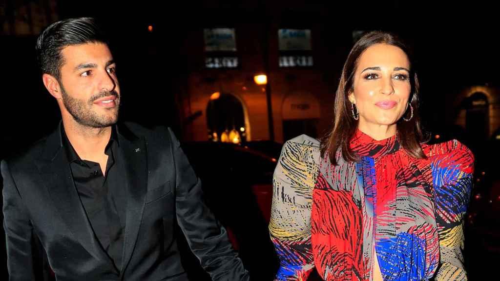 Paula Echevarría y Miguel Torres en un evento a principios del mes de diciembre.