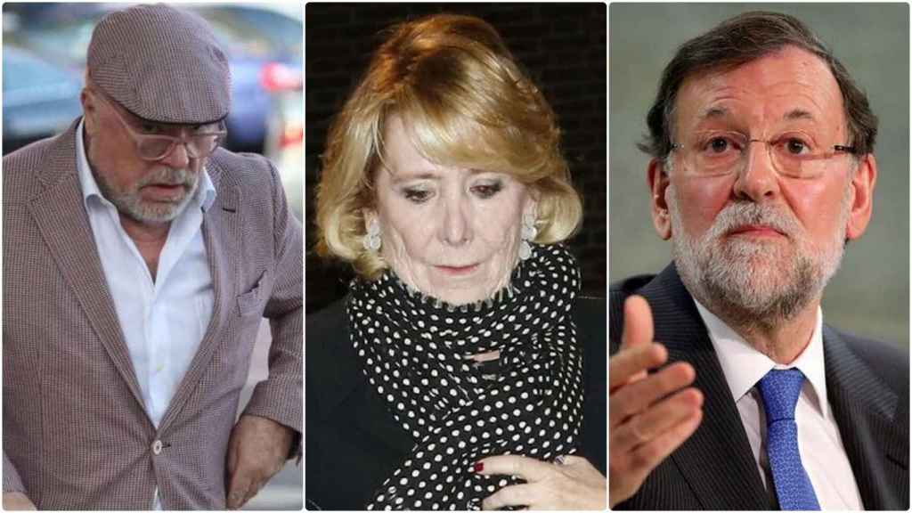 El comisario, Aguirre y Mariano Rajoy, de nuevo involucrados en las grabaciones.