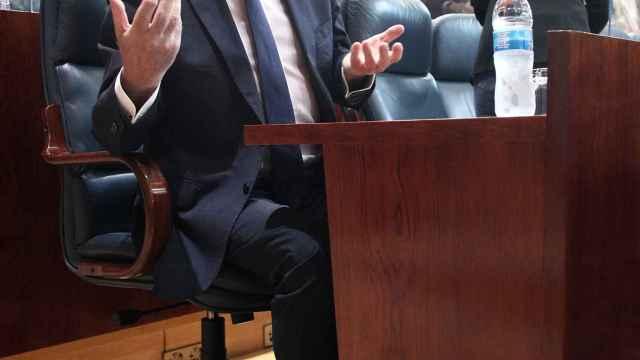 El portavoz del PSOE en la Asamblea de Madrid, Ángel Gabilondo, en una imagen de hace unos días.