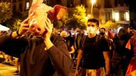 Los CDR se hicieron con cabezas de cerdo para lanzar a los Mossos d'Esquadra.