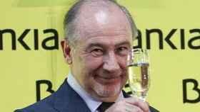 Rodrigo Rato, durante la salida a bolsa de Bankia.