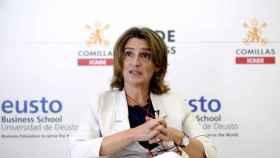 La vicepresidenta cuarta y ministra para la Transición Ecológica y Reto Demográfico, Teresa Ribera.
