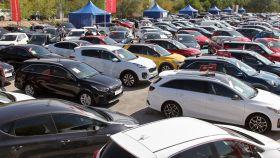 Imagen de un concesionario de coches de segunda mano