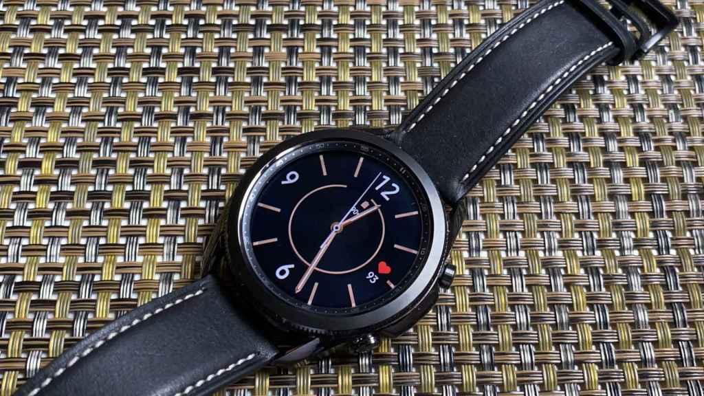 Así es el Samsung Galaxy Watch 3.