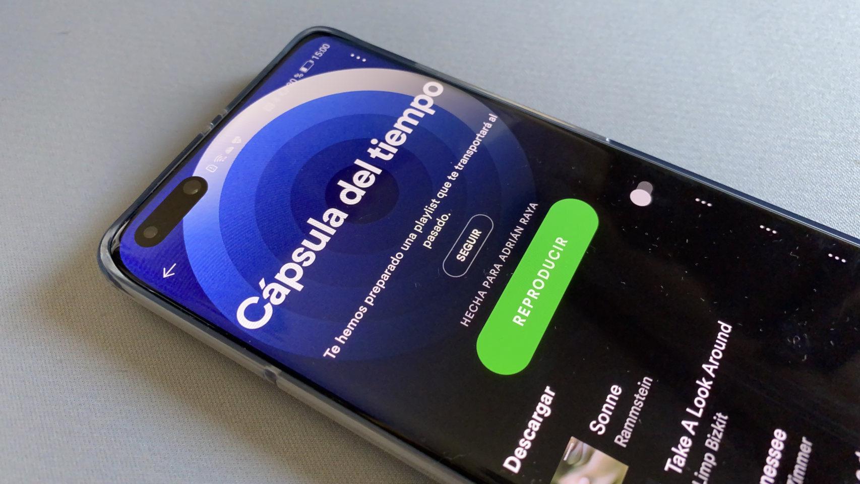 Spotify y su Cápsula del tiempo