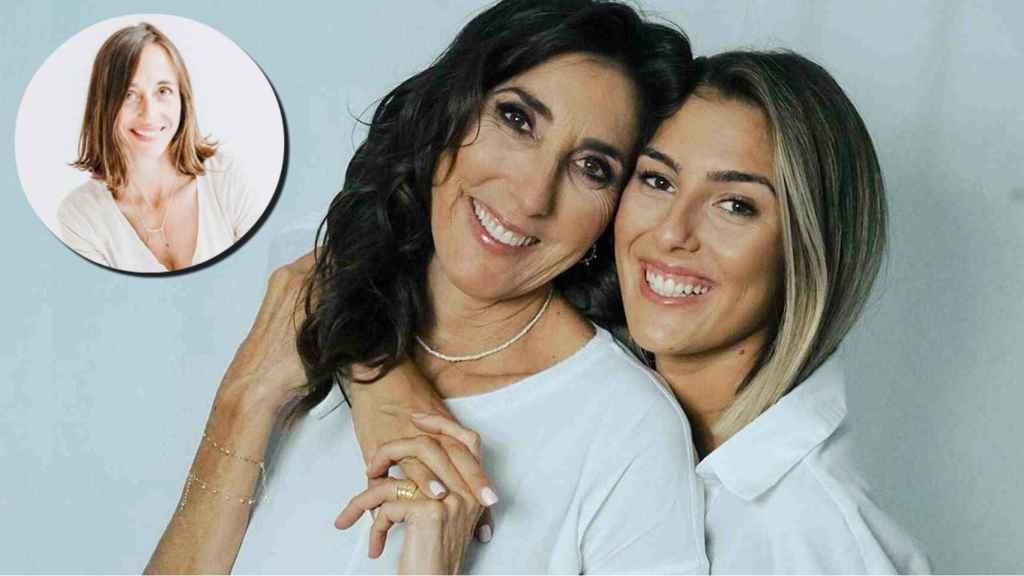 Paz Padilla y su hija, Anna Ferrer, han cambiado sus hábitos de alimentación para mejorar su salud.