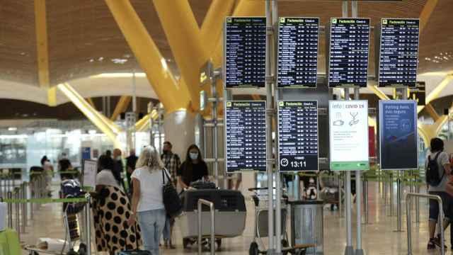 La T4 del Aeropuerto de Madrid-Barajas.