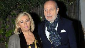 Carmen Borrego junto a su marido José Carlos Bernal en imagen de archivo.