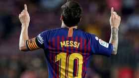 Leo Messi, en un partido del Barcelona de La Liga 2020/2021