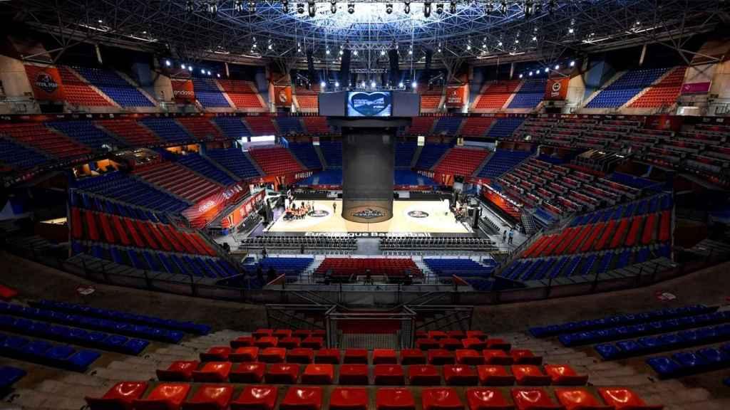 El Buesa Arena, la casa del Baskonia