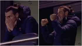 Bale, en la grada del Tottenham Stadium