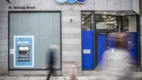 Oficina de TSB en el Reino Unido.
