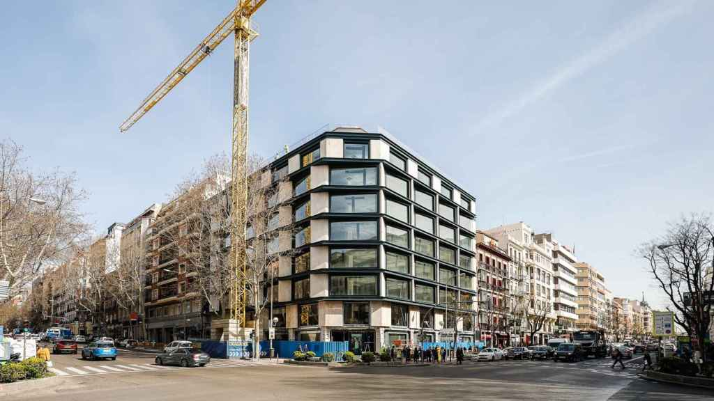Zurich Seguros compra el edificio de la Calle Velázquez, 34, en Madrid.
