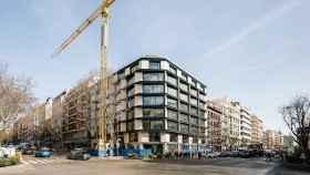 Edificio de la Calle Velázquez, 34, en Madrid comprado recientemente por Zurich Seguros.