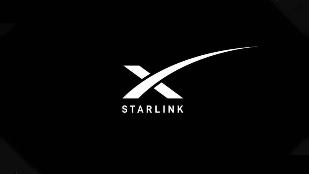 Logo oficial de Starlink.