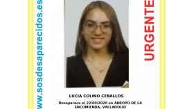 Policía y Guardia Civil piden ayuda para localizar a Lucía Colino, menor de 16 años desaparecida