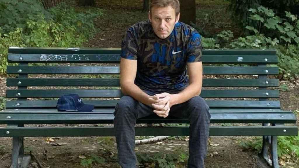 Navalny en una imagen de su Instagram.