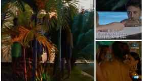 Tres momentos importantes de 'La isla de las tentaciones' en montaje de JALEOS.