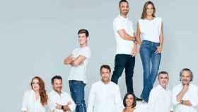 Extracto de la 'foto de familia' de Audible.