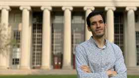 El ingeniero e investigador español Carlos Núñez, en el MIT.
