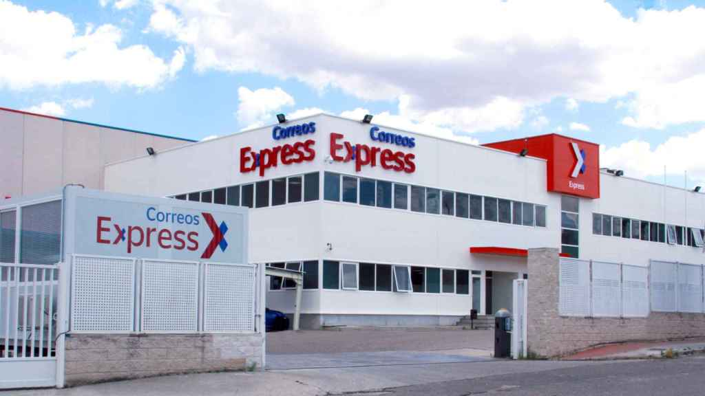 Imagen del nuevo centro de Correos Express en Getafe.