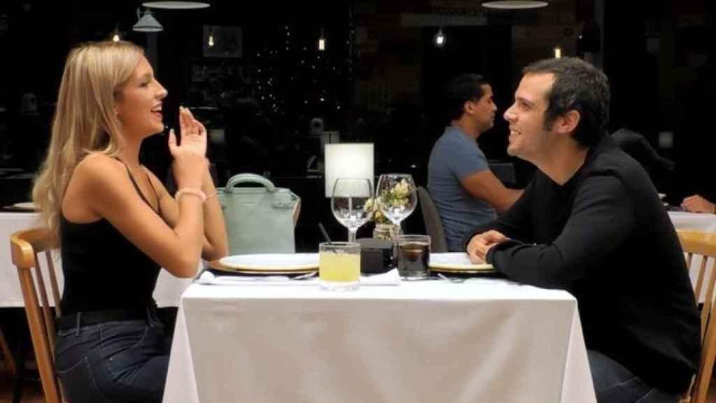 Daniel Guadaño comenzó con nervios su cita con Sandra.