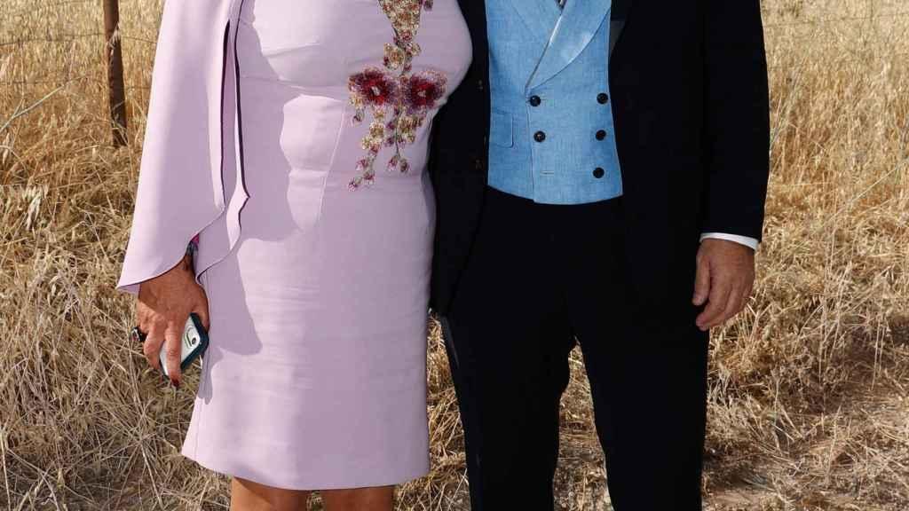 Carmen Borrego y José Carlos Bernal se conocieron a través de la hija de él.