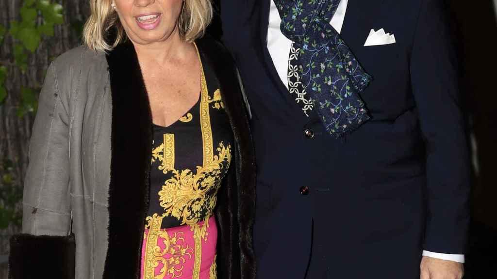 La pareja no parece haberse resentido pese al aumento de la popularidad que Carmen Borrego ha experimentado en los últimos años.