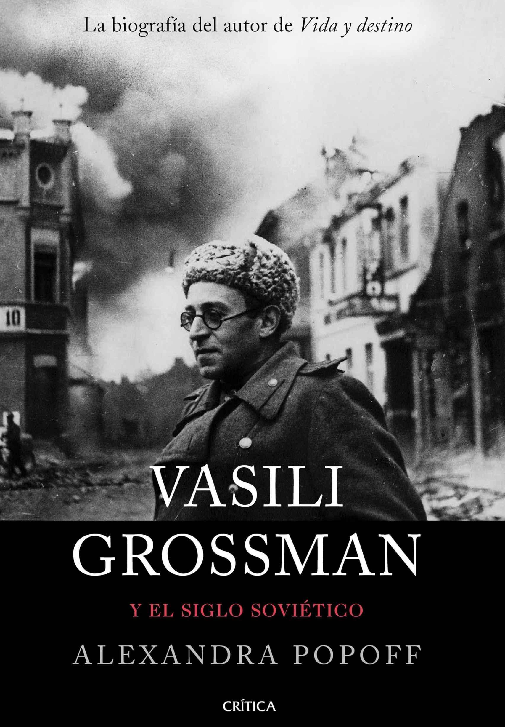 Portada de 'Vasili Grossman y el siglo soviético' (Crítica).