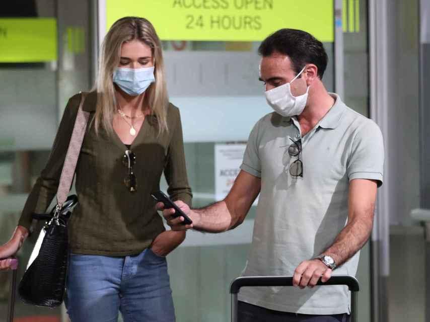 Enrique Ponce y Ana Soria en una imagen reciente.