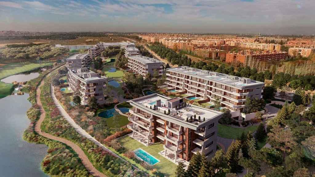 Imagen del nuevo residencial La Finca LGC3.