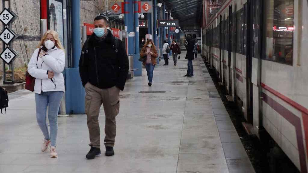 Estación de Renfe en Madrid.