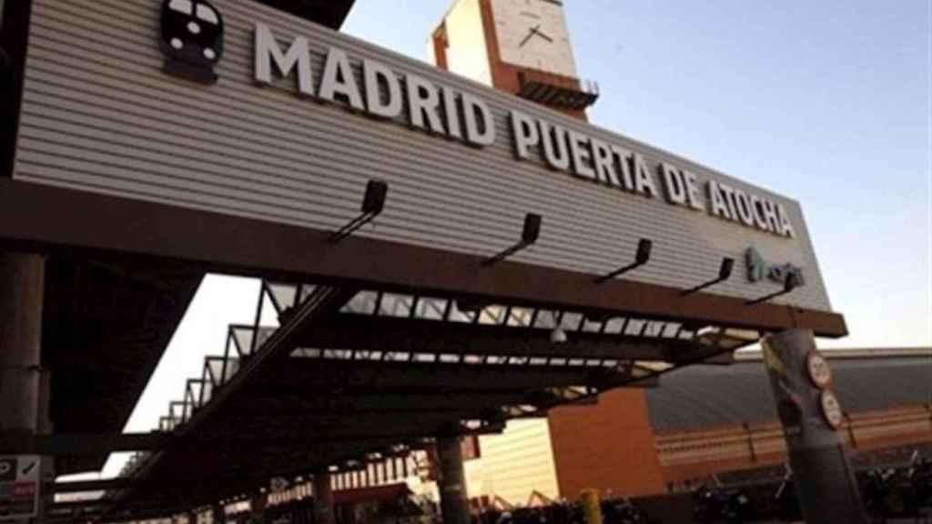 Imagen de la entrada de Atocha.