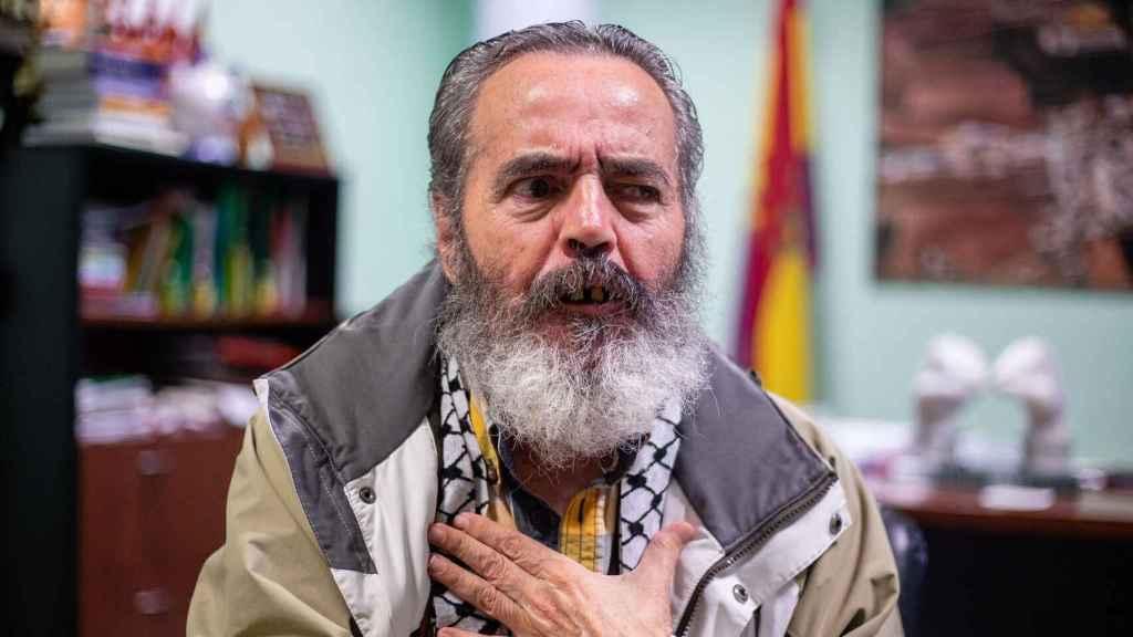 Sánchez Gordillo es alcalde de Marinaleda desde 1979.
