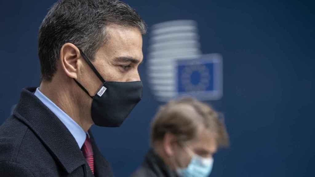 Pedro Sánchez, durante una reciente cumbre en Bruselas.