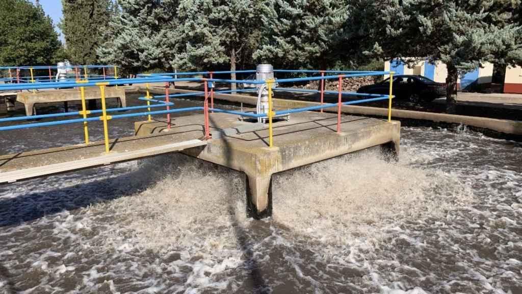 Planta de depuración de aguas residuales