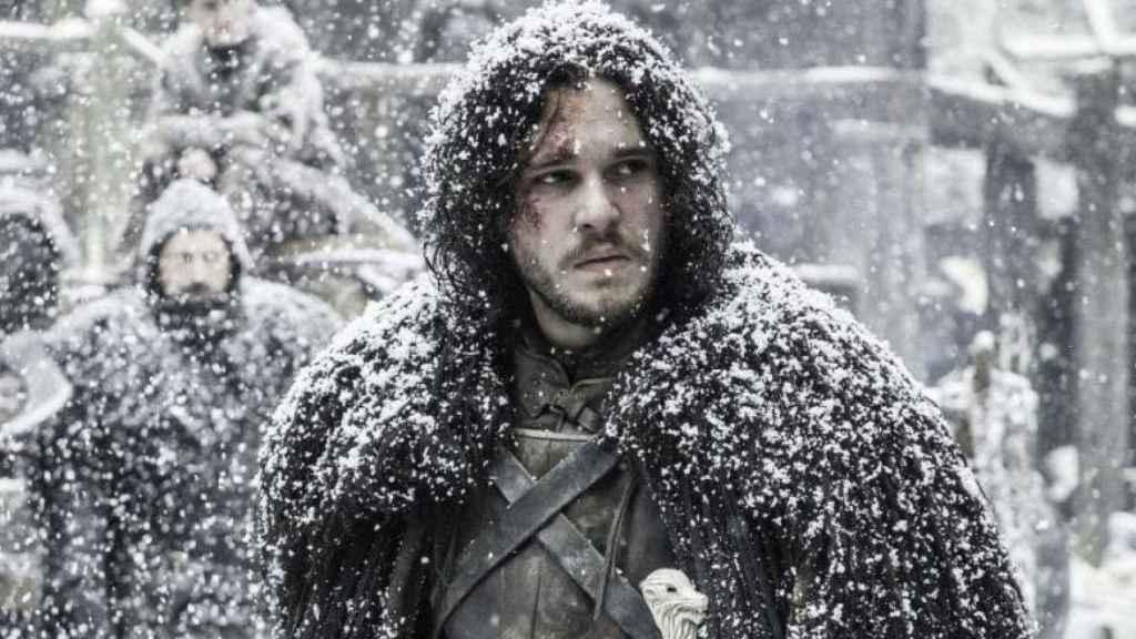Jon Nieve en 'Juego de Tronos'.