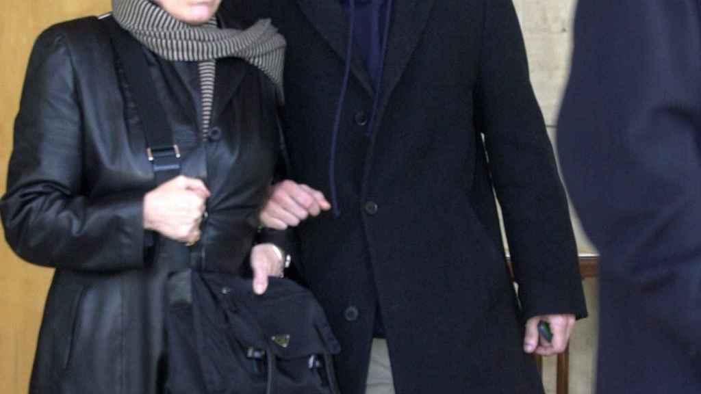 Rosa María Sardá y su hijo, Paul Mainat Sardà, en una imagen de archivo.