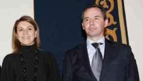 Cospedal y Gómez Gordo en la toma de posesión como director general de la Junta