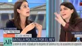 Maestre y Olona en Telecinco.